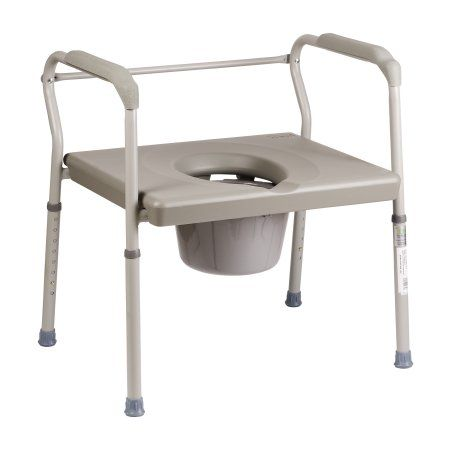 Sensational Dmi Heavy Duty Bariatric Portable Bedside Commode Toilet Cjindustries Chair Design For Home Cjindustriesco