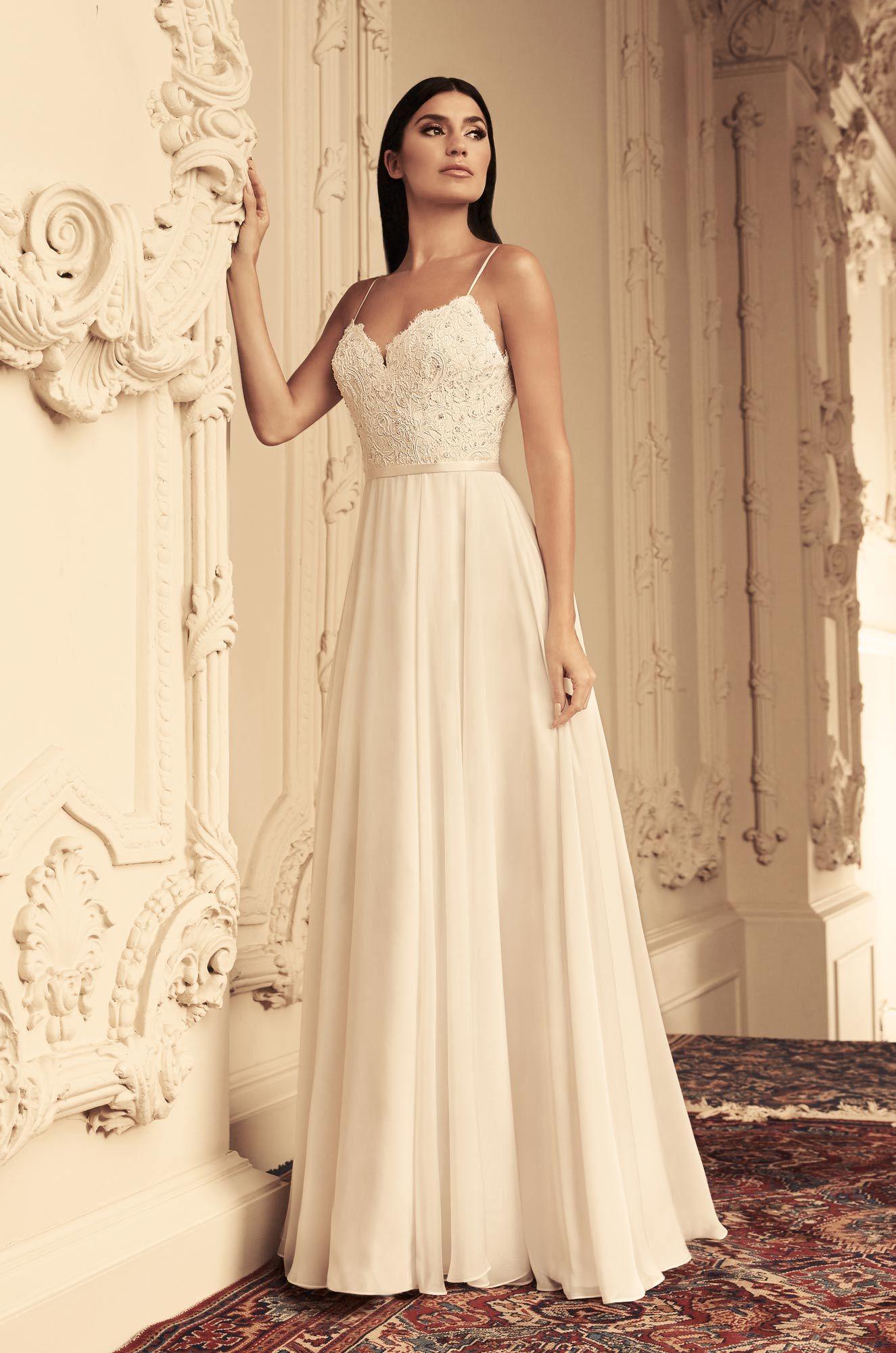 Elegant organza wedding dress style wedding dress kc