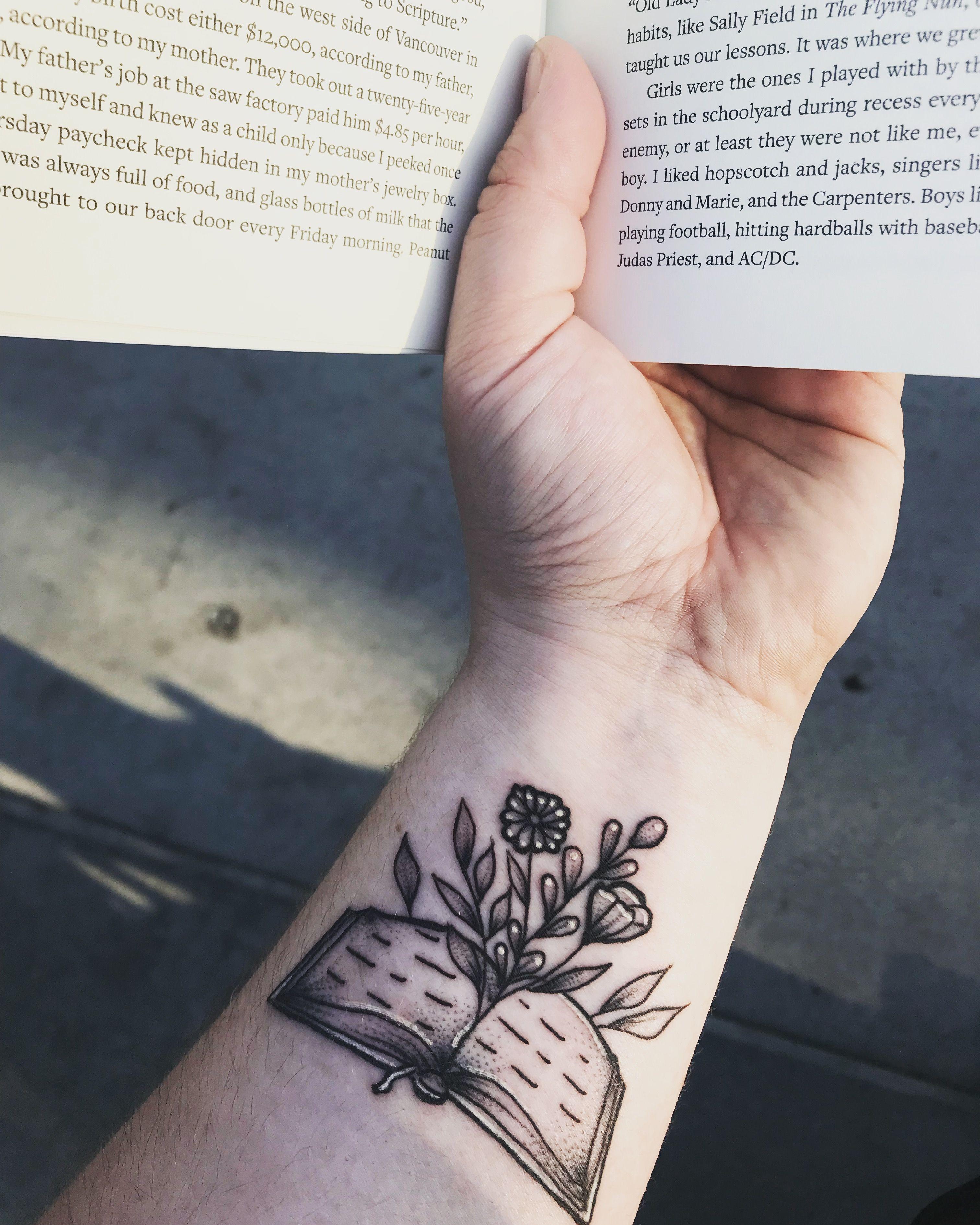 My Latest Tattoo Flower Wrist Tattoos Latest Tattoos Typewriter Tattoo