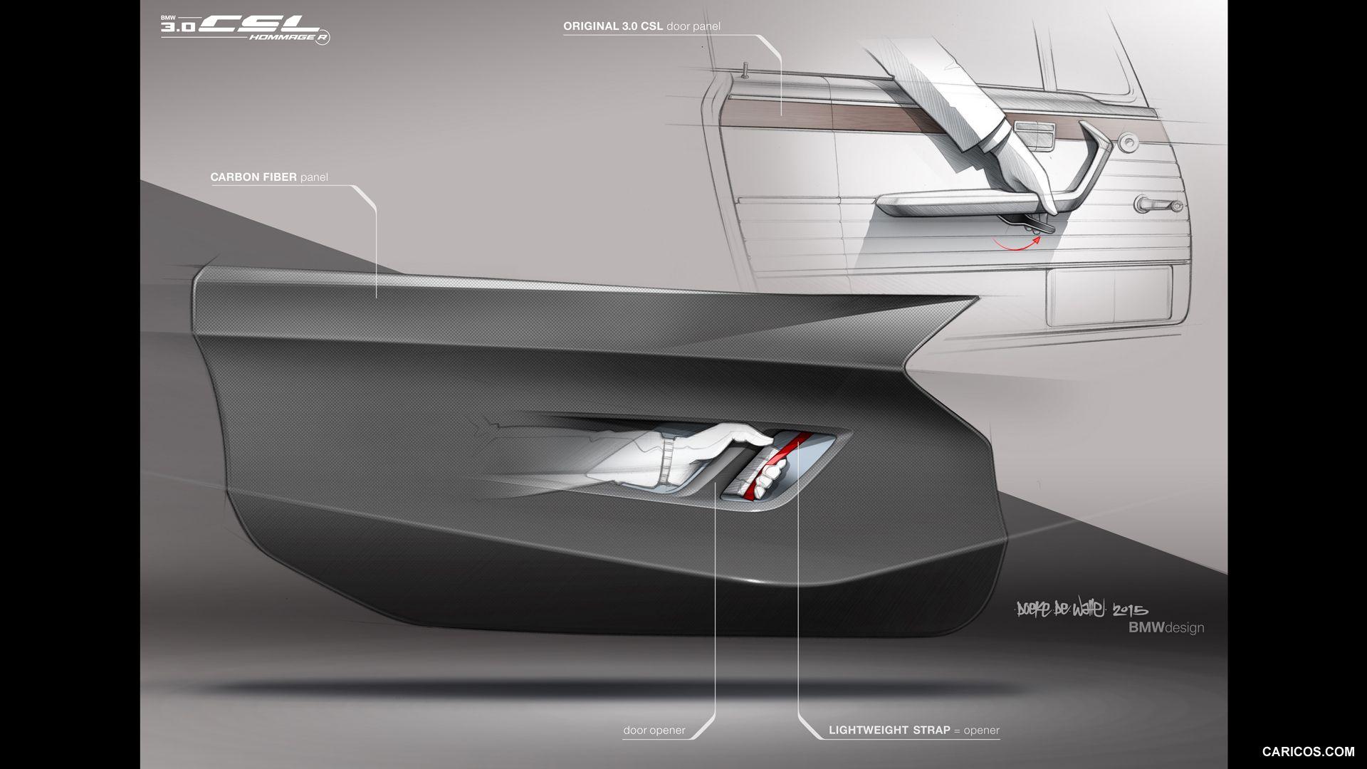 2015 Bmw 3 0 Csl Hommage R Wallpaper Automotive Interiors