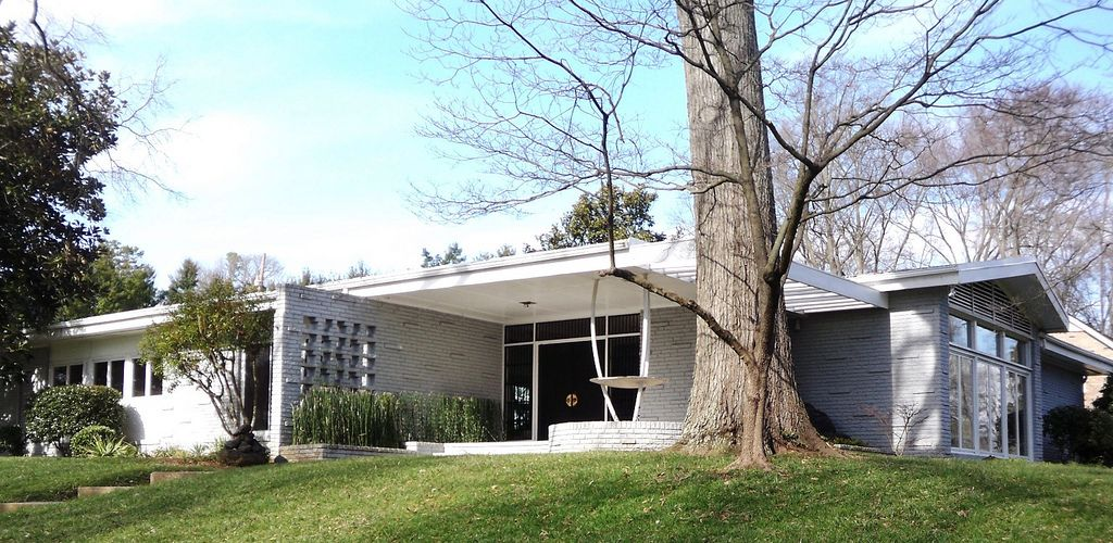 Mid-Century Modern Home in the Cloisters Charlotte NC | Mid ...