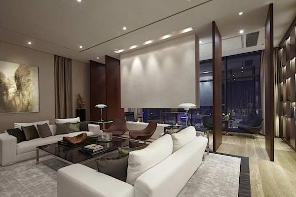 Awesome Living Room Mewah Contemporary - Simple Design Home ...