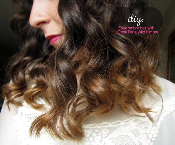 Easy diy ombre hair using loreal feria wild ombre set in easy diy ombre hair using loreal feria wild ombre set solutioingenieria Choice Image