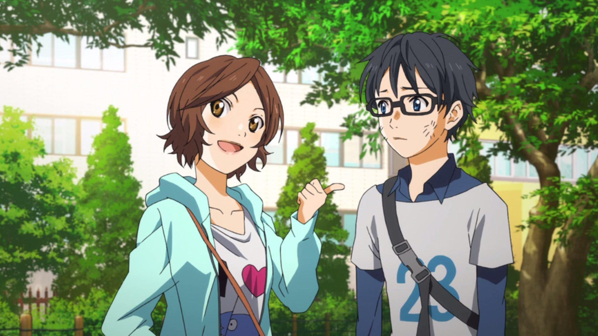 """""""First Impression"""" (EP 1) Tsubaki Sawabe and Kousei Arima"""