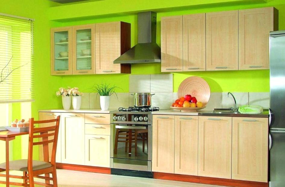 Green Paint For Kitchen Walls Bright Kitchen Colors Contemporary Green And Yellow Painted Kitche Green Kitchen Decor Green Kitchen Walls Green Kitchen Cabinets