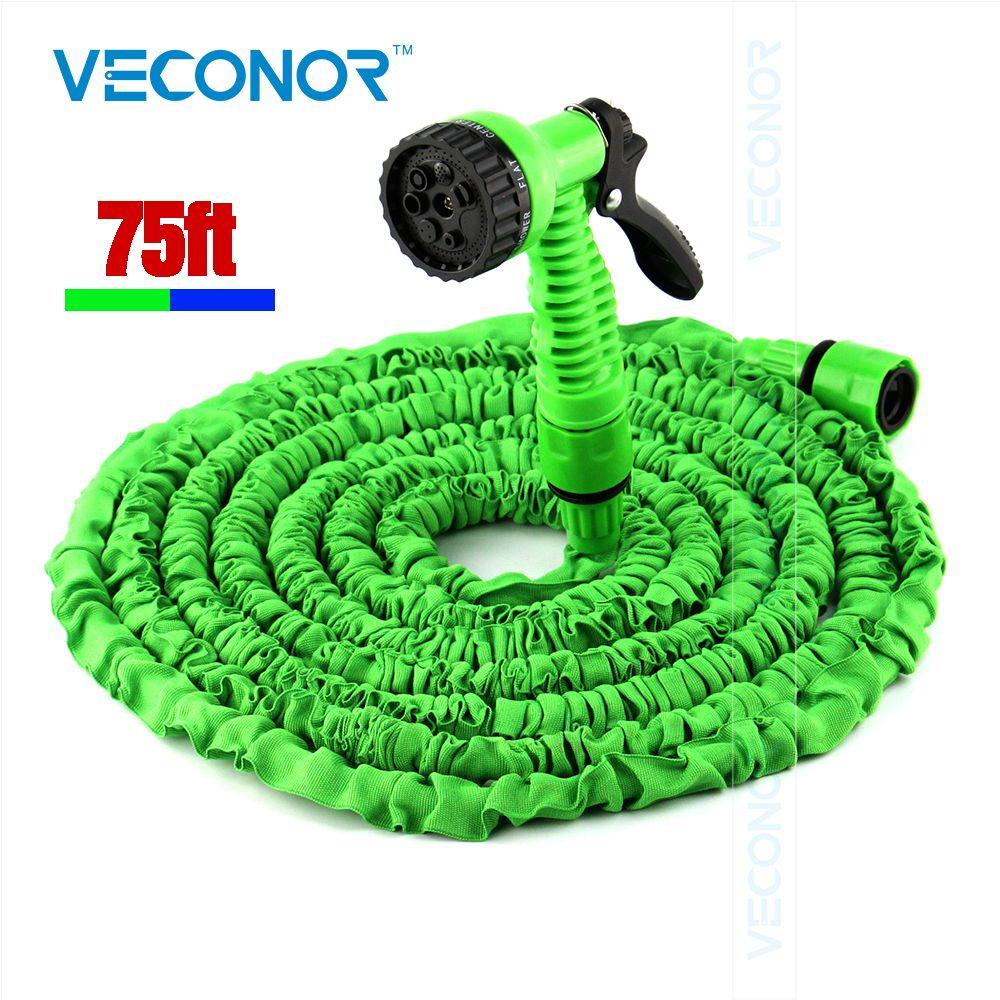 75ft 22.5m expandable flexible magic water hose pipe with spray nozzle gun garden hose retractable  sc 1 st  Pinterest & 75ft 22.5m expandable flexible magic water hose pipe with spray ...