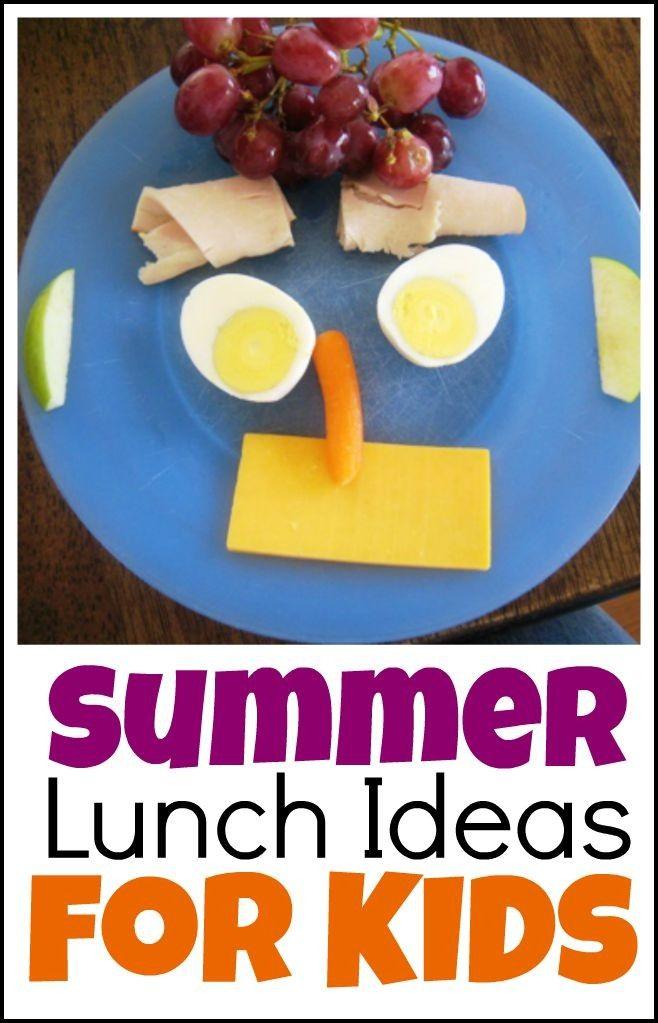 Summer Lunch Ideas For Kids Lifeasmom