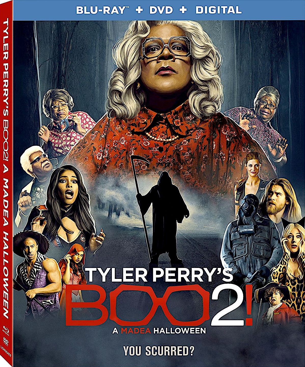 BOO2! A MADEA HALLOWEEN BLU-RAY (LIONSGATE) | RECENT AND UPCOMING ...