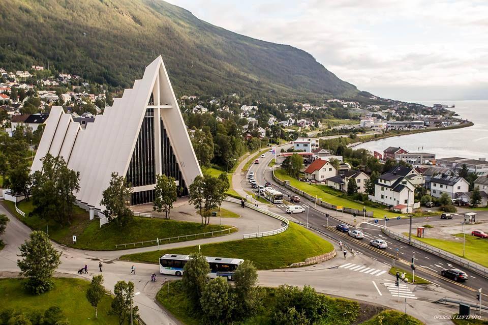 Ishavskatedralen i Tromsø