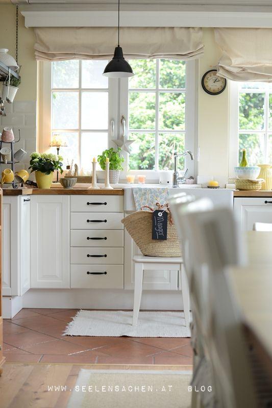 SeelenSachen manger Küche Pinterest Garden deco, Haus and House - kleine küchenzeile ikea