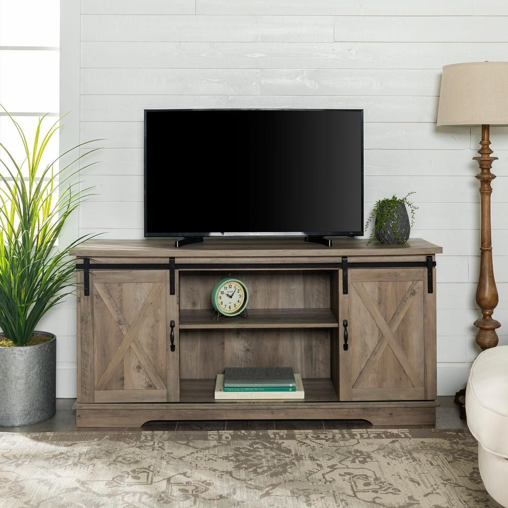Laurel Foundry Modern Farmhouse Berene TV Stand for TVs up