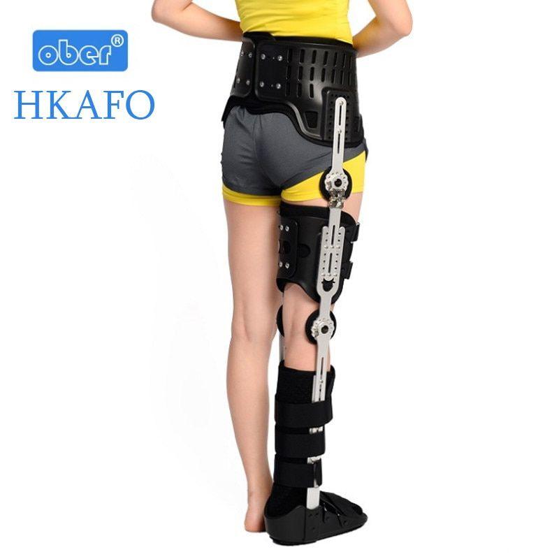 Hkafo Ober Hip Knee Ankle Foot Orthosis Medical Leg Fracture
