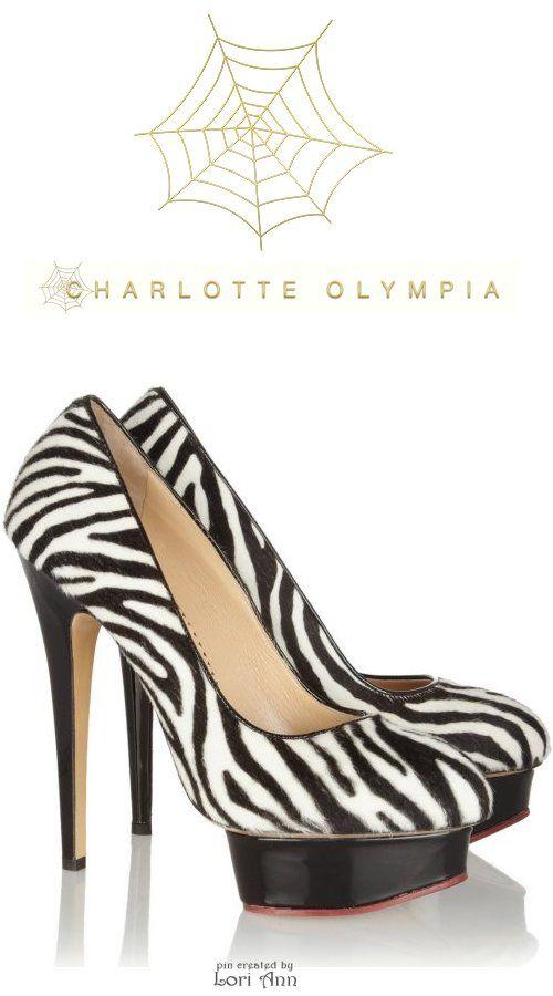 Charlotte Olympia Polly in Zebra
