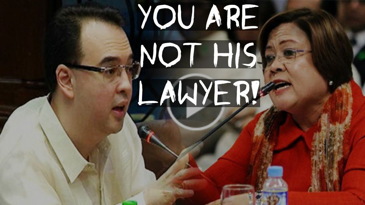 YOU ARE NOT HIS LAWYER! - CAYETANO to DE LIMA | Cayetano Question Edgar Matobato FULL VIDEO 9/15 - http://www.dutertenewstoday.com/you-are-not-his-lawyer-cayetano-to-de-lima-cayetano-question-edgar-matobato-full-video-915/