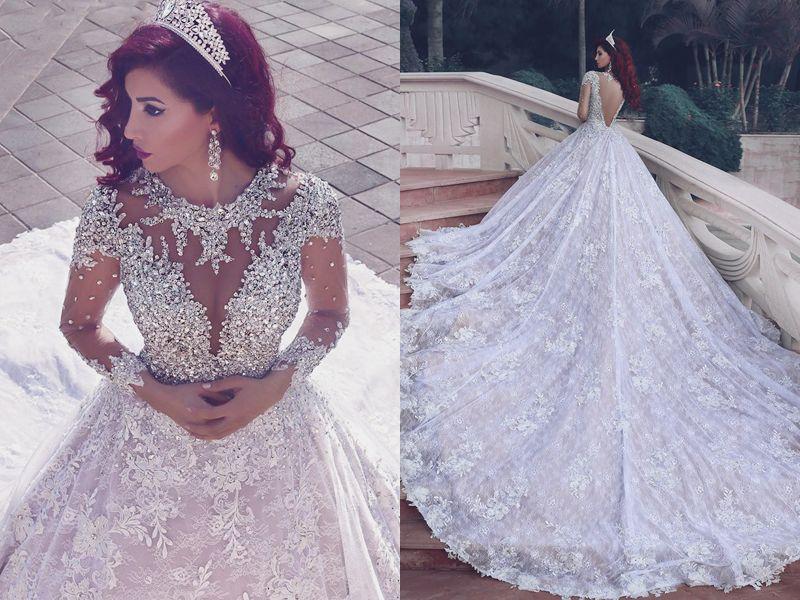 Cool  Breathtaking Wedding Dresses for Glamorous brides