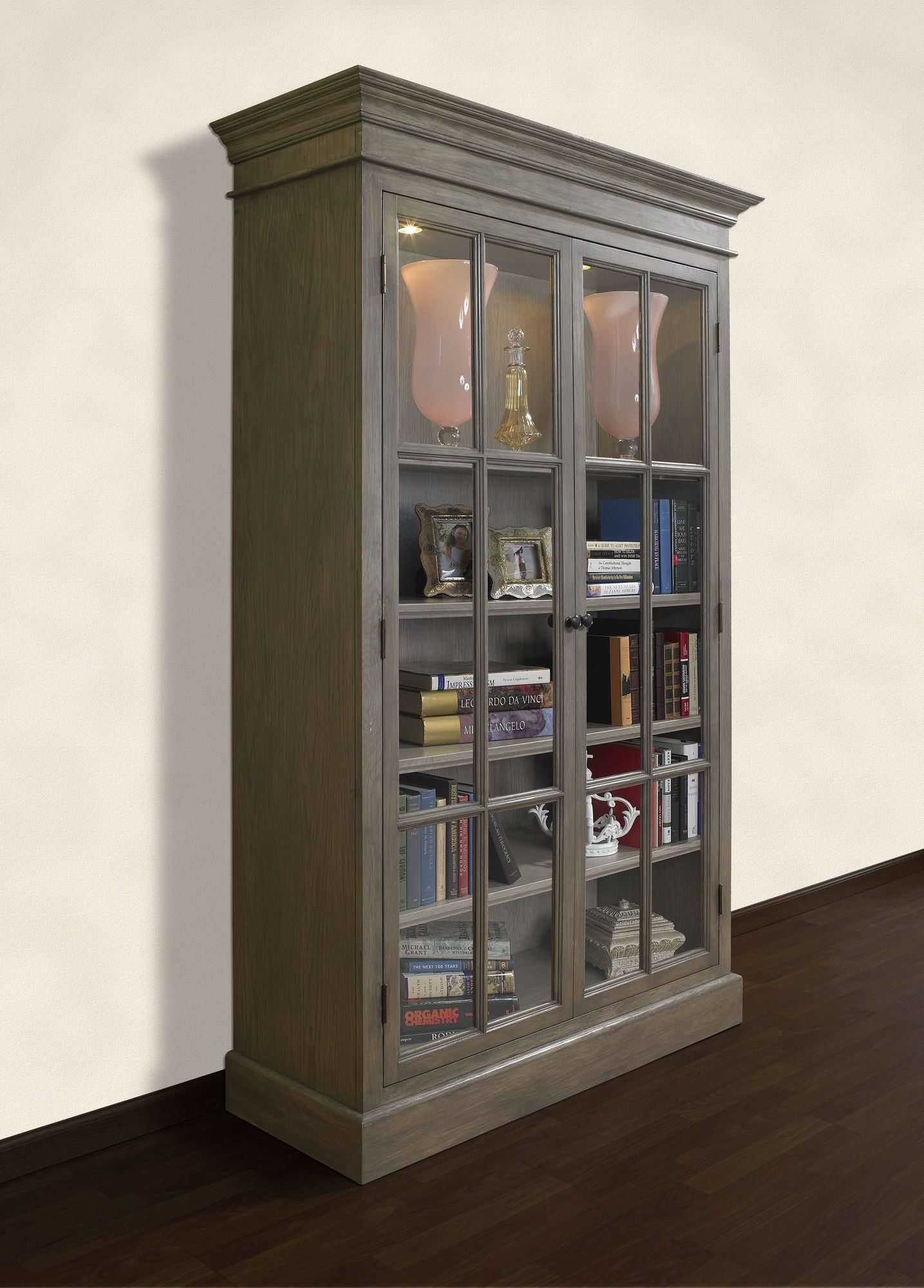 Ae Wood Designs French Restoration Provence Display Cabinet