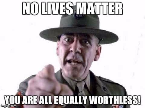 sergeant hartman no lives