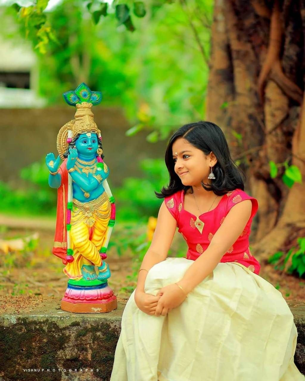 Download Happy Vishu Wallpaper By Gurusad 1e Free On Zedge Now Browse Millions Of Popul Child Photography Girl Cute Kids Photography Beautiful Girl Photo