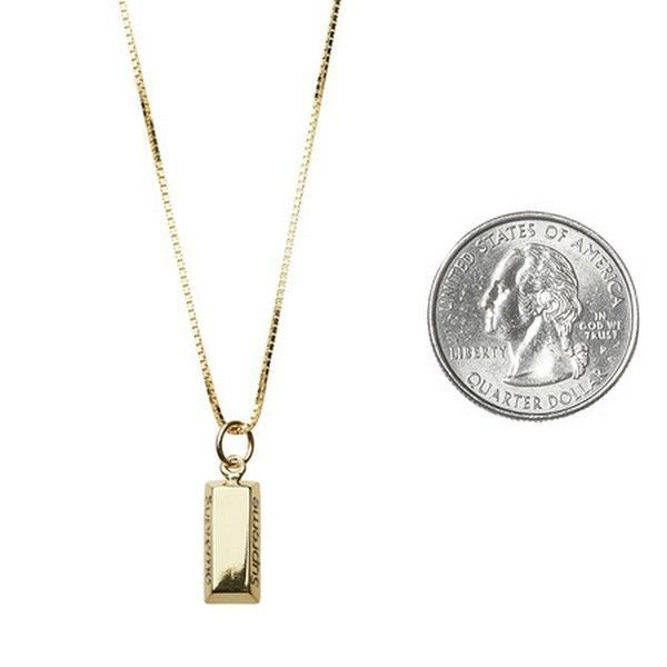 Other mens accessories 1060 supreme gold bar pendant 14k box logo other mens accessories 1060 supreme gold bar pendant 14k box logo camp cap tnf cdg s s 16 buy it now only 74999 on ebay aloadofball Image collections
