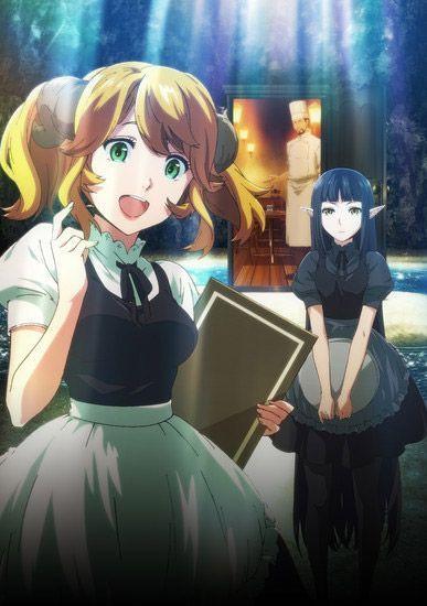 Isekai Shokudo L Anime De Cuisine En Image Le Dojo Manga Anime Dessin Manga