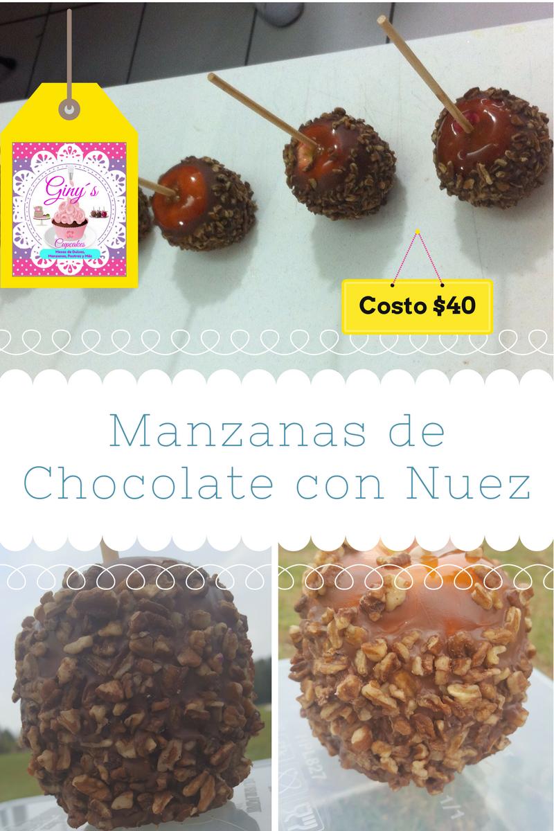 Elaboramos Ricas Manzanas Decoradas Con Chocolate Tamarindo  # Muebles Tamarindo Guadalajara