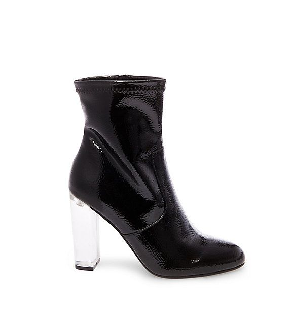 337d27c749 EMINENT: STEVE MADDEN | Fashion | Black ankle boots, High heel boots ...