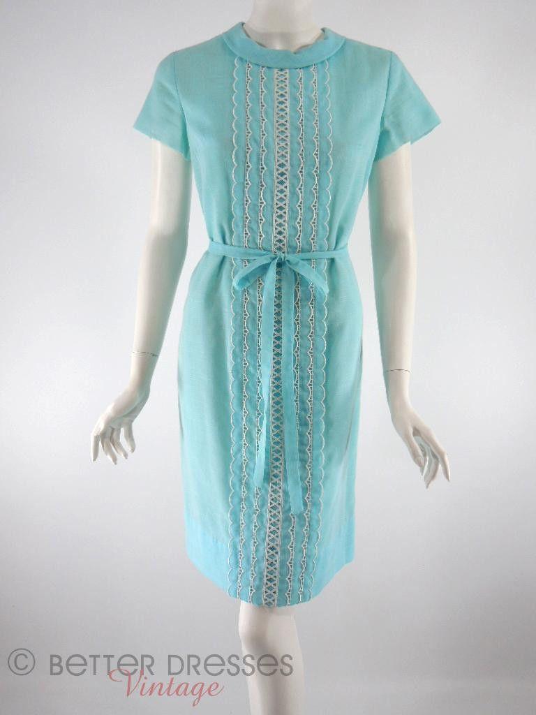 60s Blue Shift Dress Nice Dresses Blue Shift Dress Vintage Dresses [ 1024 x 768 Pixel ]