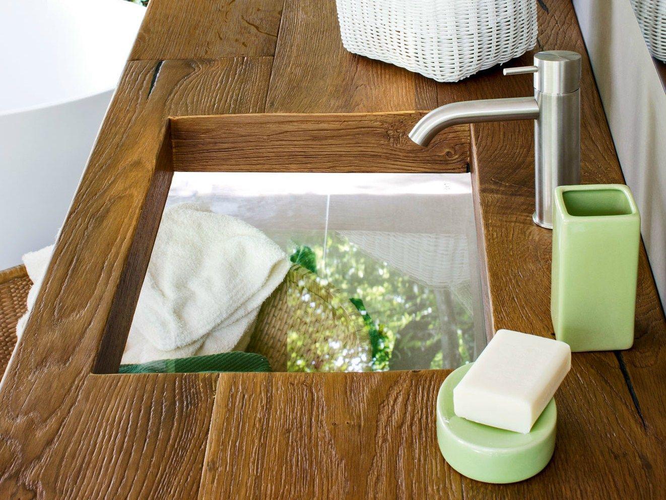 Banos Lago.Glass Undercounted Sink Depth Wildwood By Lago Design