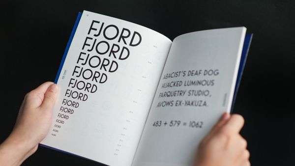 Fjord Grotesque on Behance