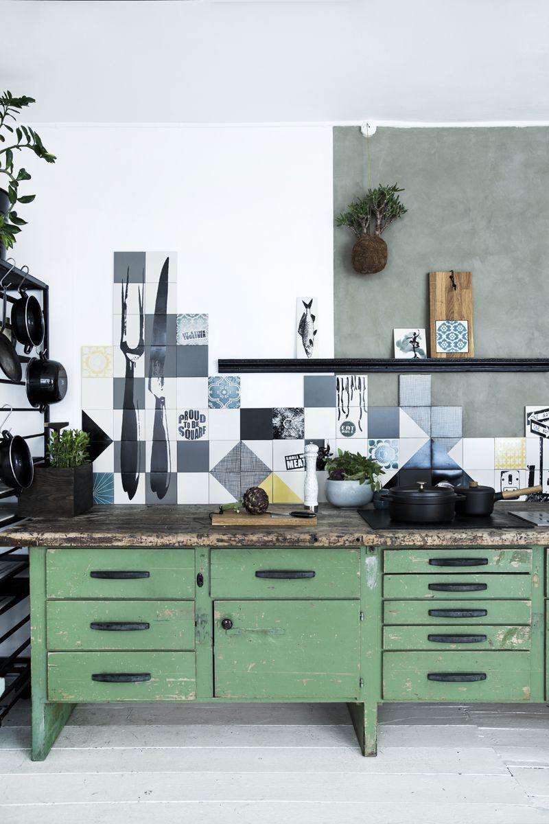 Küchendesign grün arttiles u handmade ceramic and porcelain design tiles  room