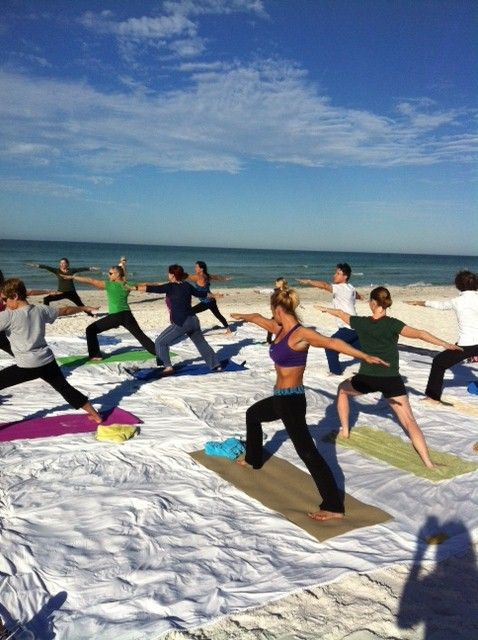 Join Us For Complimentary Beach Yoga On Siesta Key Saays And Sundays