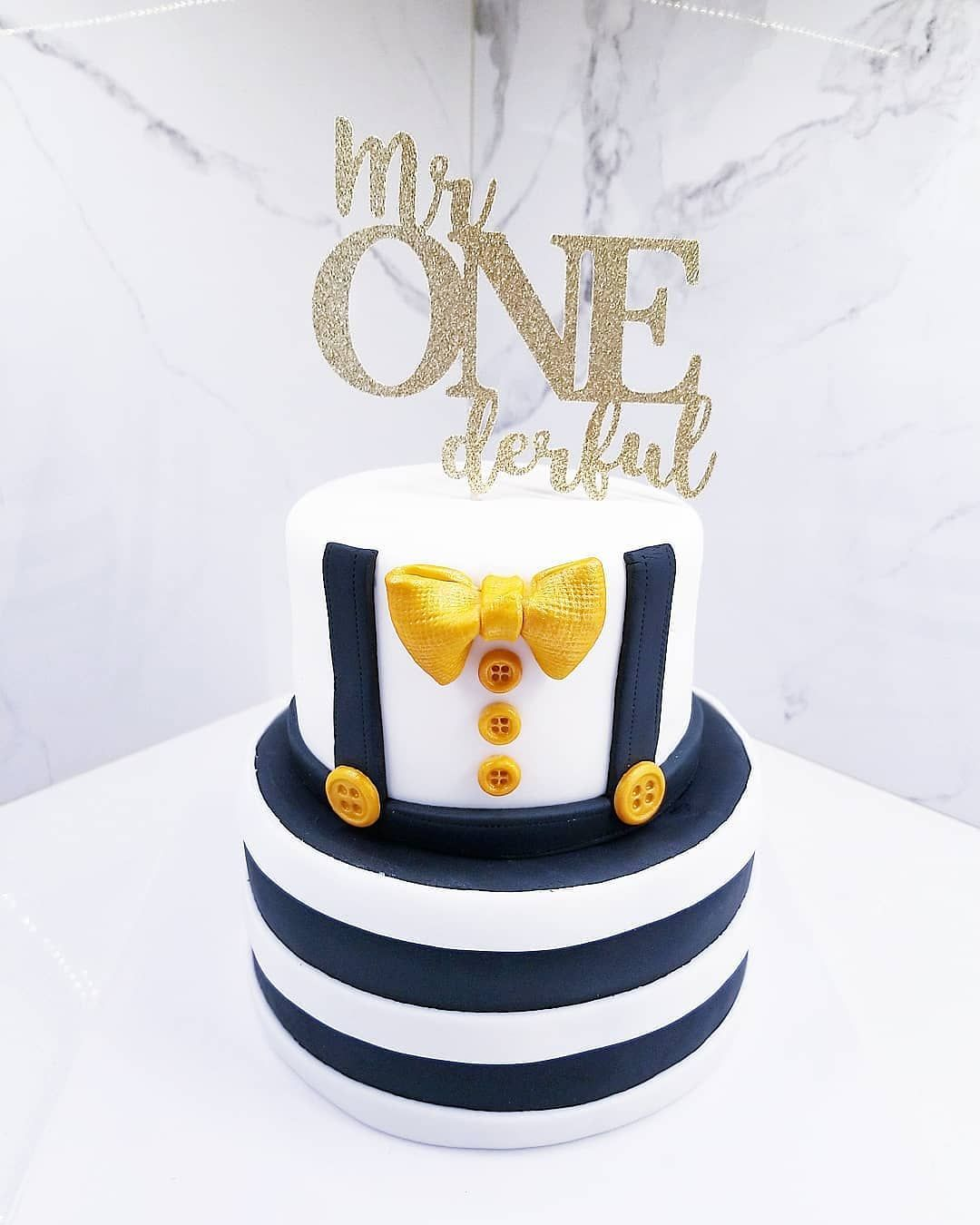 1e Verjaardag With Images Baby Boy Birthday Cake Boys First