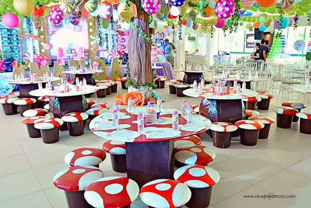 Amanda\u0027s Alice in Candy Wonderland Themed Party \u2013 Kiddie Table Setup & Amanda\u0027s Alice in Candy Wonderland Themed Party \u2013 1st Birthday ...