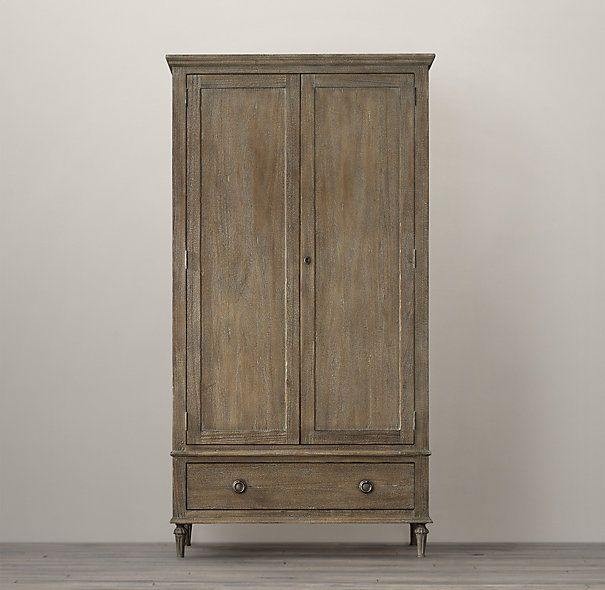 Maison Armoire. Restoration Hardware. Light Wood (other Options Available.)  2 Doors