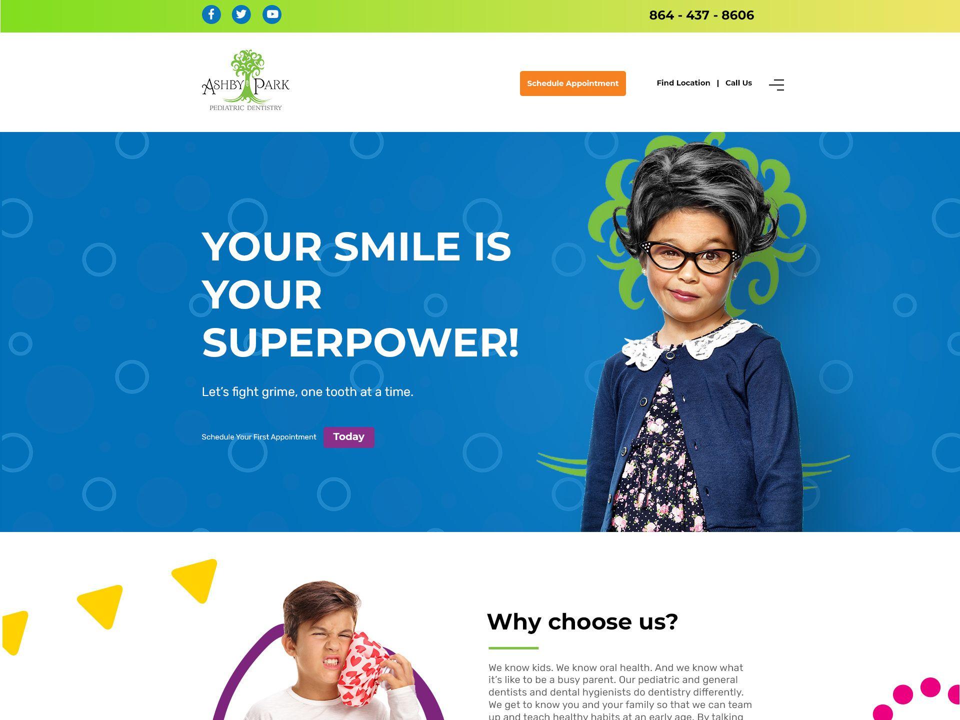 Pediatric Dentist Website Design Dentist Website Pediatric Dentist Pediatrics