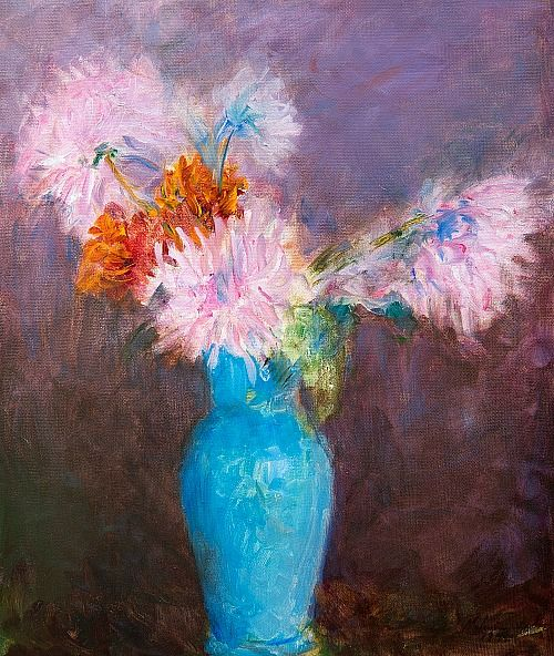 Ester Helenius Still Life with Flowers 1942