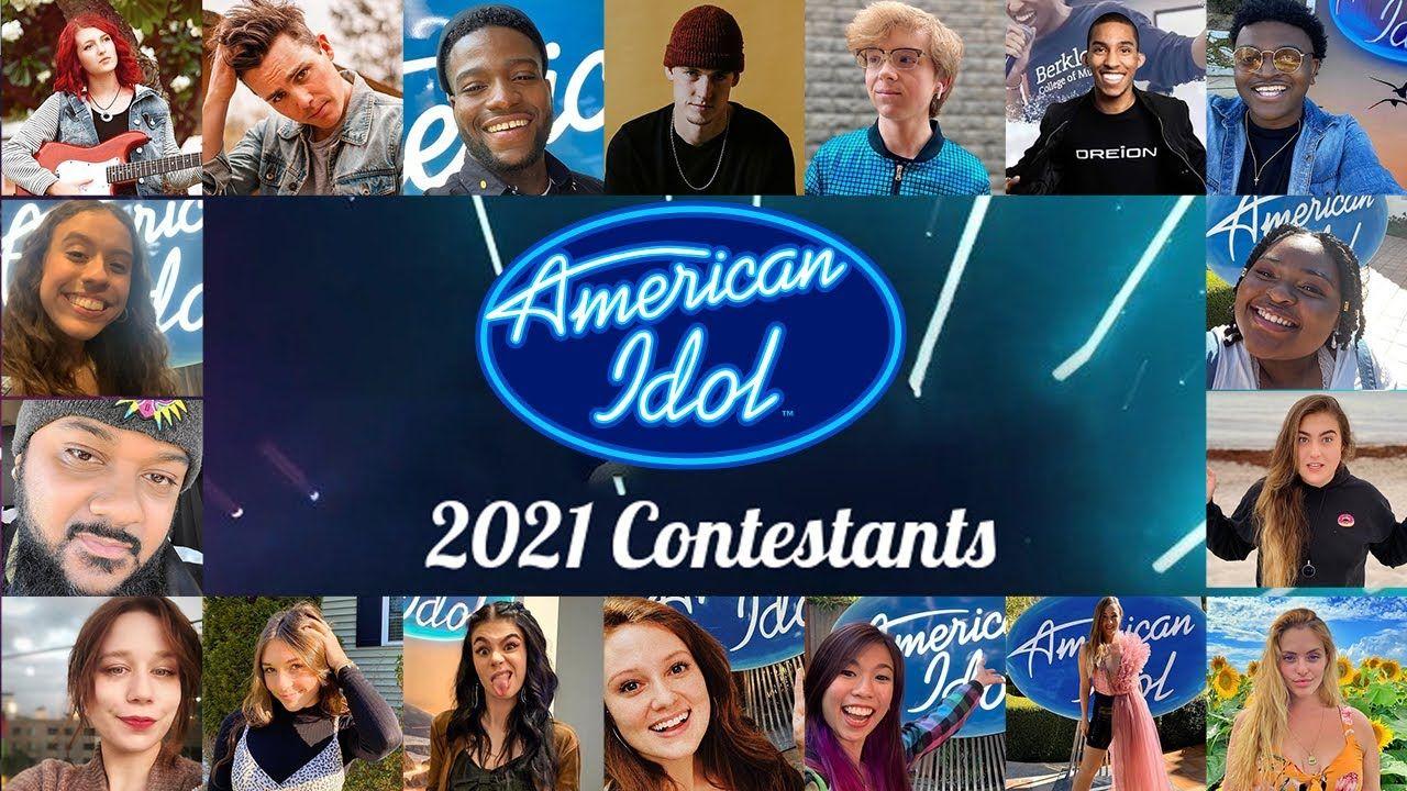 American Idol 2021 Contestants List Top 30 American Idol 2021 Auditi In 2021 American Idol American Idol Contestants American Idol Judges