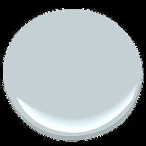 Benjamin Moore Silver Gray Paint Sample