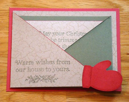 how to make simple homemade christmas cards