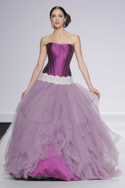 morado | vestidos de novias de colores | pinterest | vestidos de