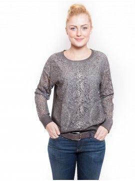 #MarcCain #LeoniExclusive #SpitzenSweatshirt #Sweatshirt