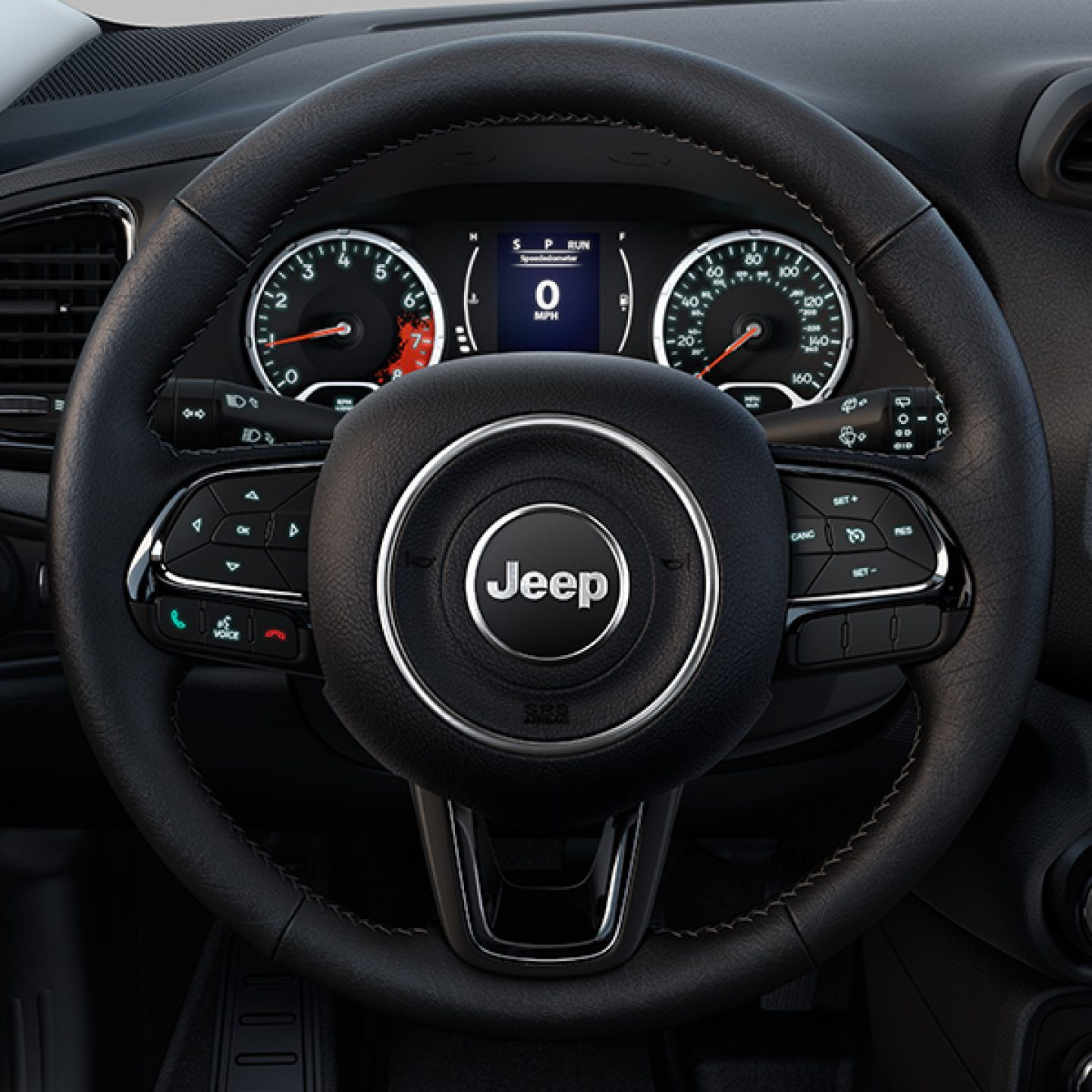 2017 Jeep Renegade Altitude VLP Key Features Gloss Black Interior