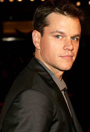 Great actor, awesome person.: Matt Damon