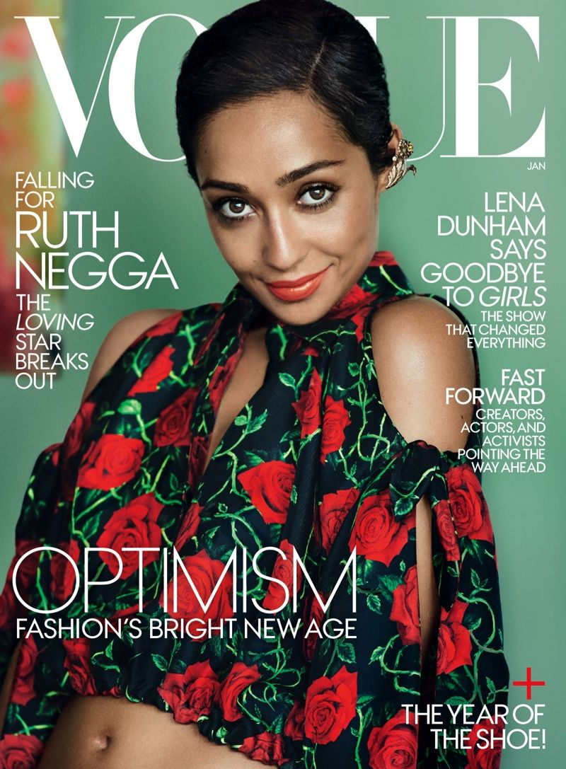 Ruth Negga Embraces Bold Prints In Vogue Cover Shoot Vogue Magazine Vogue Us Fashion Trends Magazine