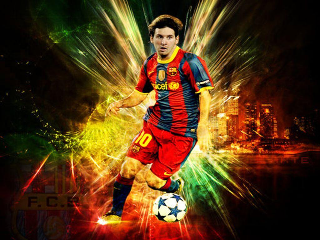 Lionel Messi Euro 2012 HD Wallpaper