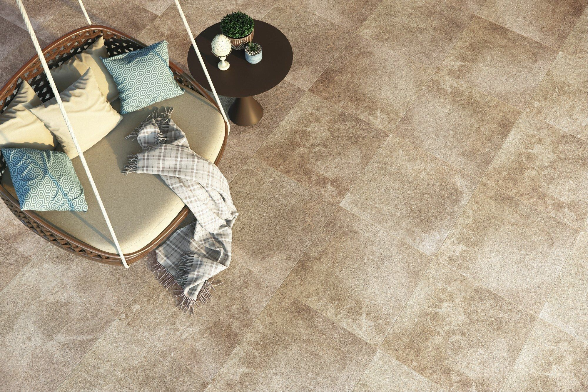 Looking For The Perfect Nonslip Tile For An Outdoor Patio Look No Further Than Montac A 2019 Slate Look Porcelain Ti Exterior Tiles Surface Art Outdoor Patio