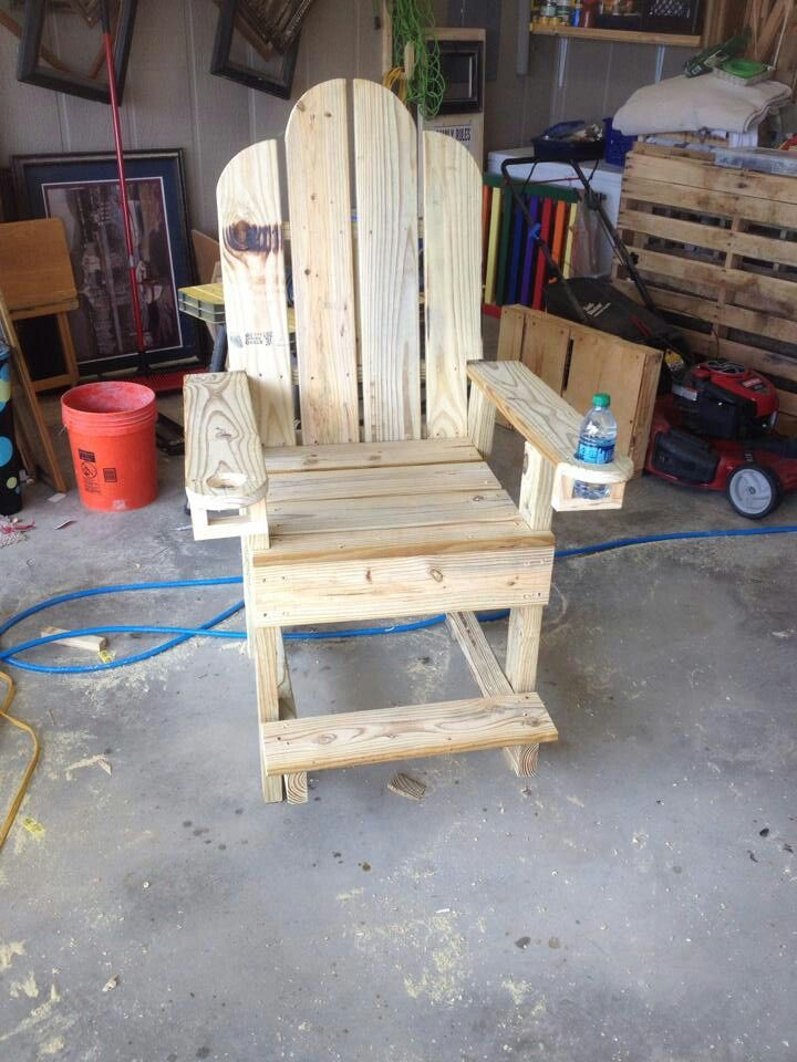 Bar Height Adirondack Chair Projects Pinterest Bar