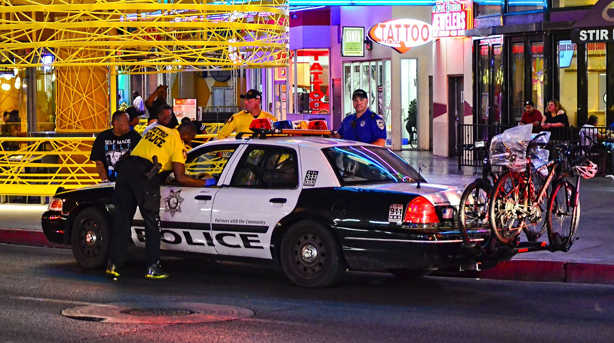 Las Vegas Metropolitan Police Police Fremont Street Experience Police Cars