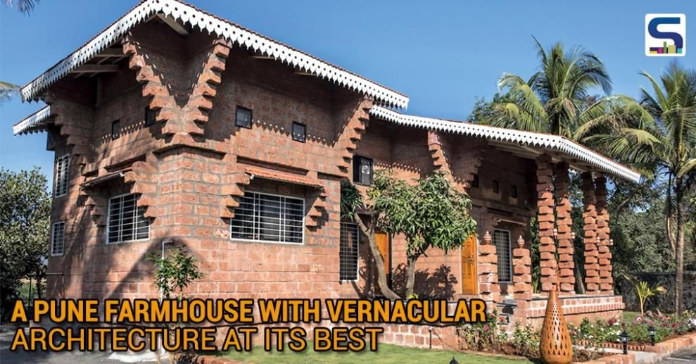 A pune farmhouse with vernacular architecture at its best