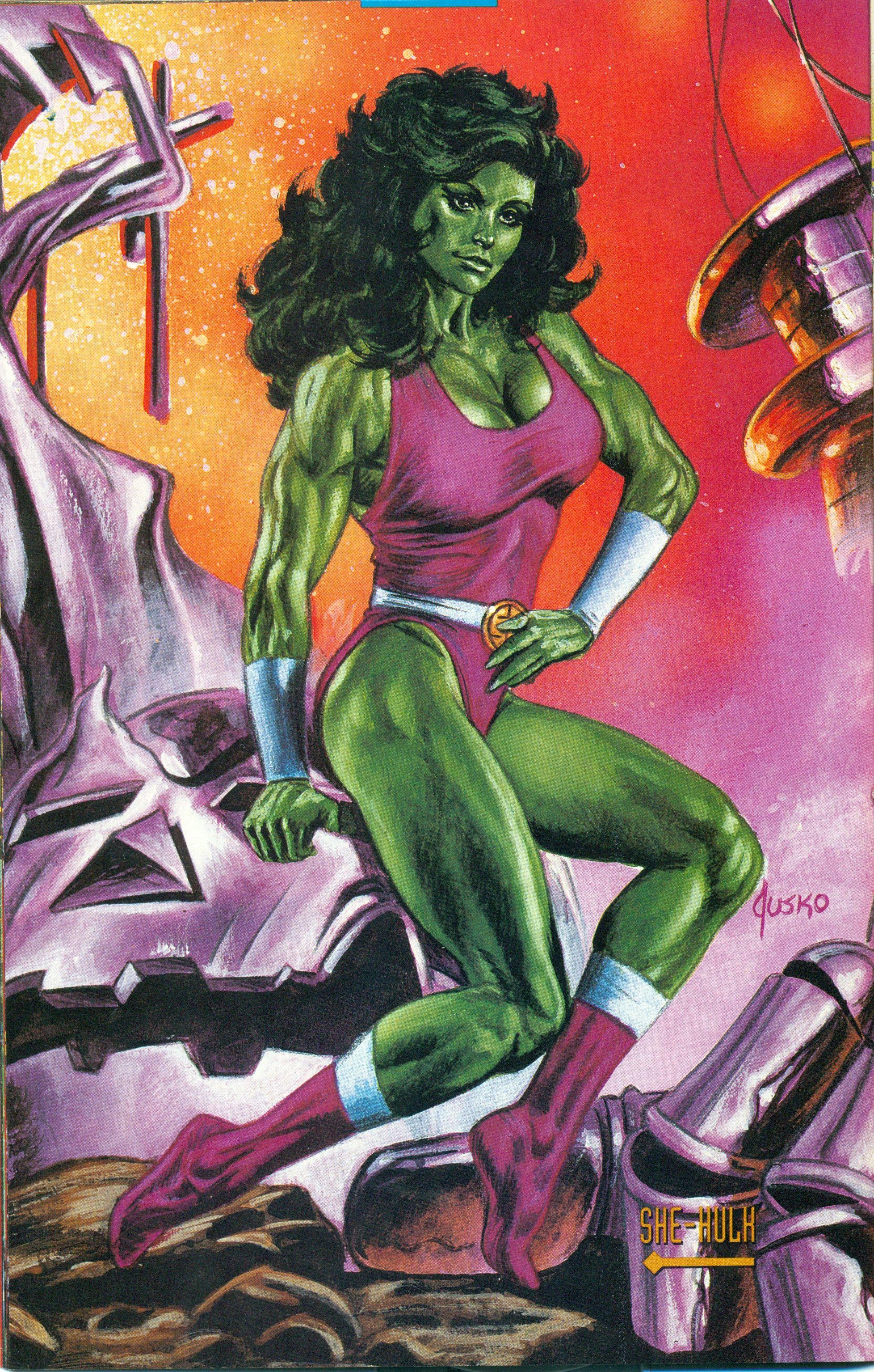 She Hulk Personajes De Marvel Superheroes Y Villanos She Hulk